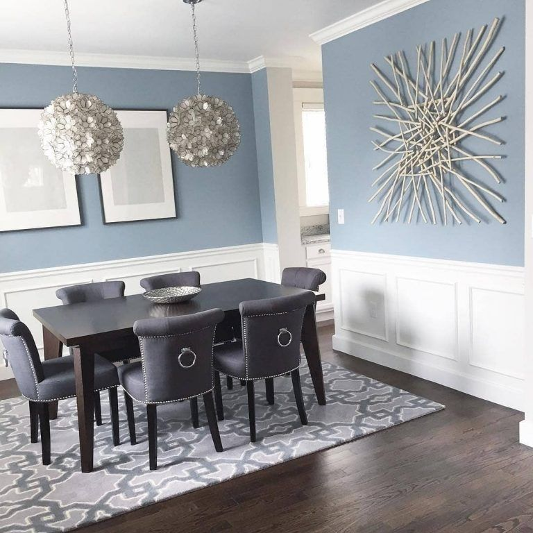 Benjamin Moore Colors For Your Living Room Decor: Benjamin Moore Nimbus Grey Dining Room