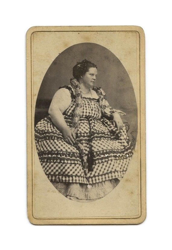 circus fat lady