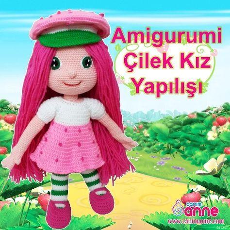 Amigurumi Çilek Kız Yapılışı #amigurumis