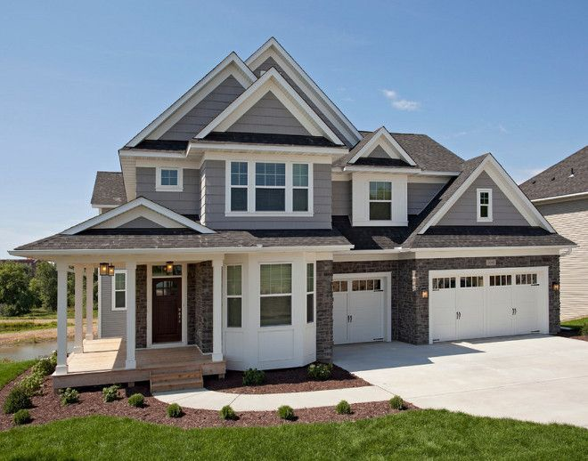 Sherwin Williams SW7673 Pewter Cast. Gray exterior paint color ...