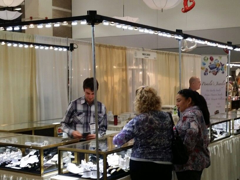 Jewelry Lighting Portable Trade Show Light At Www