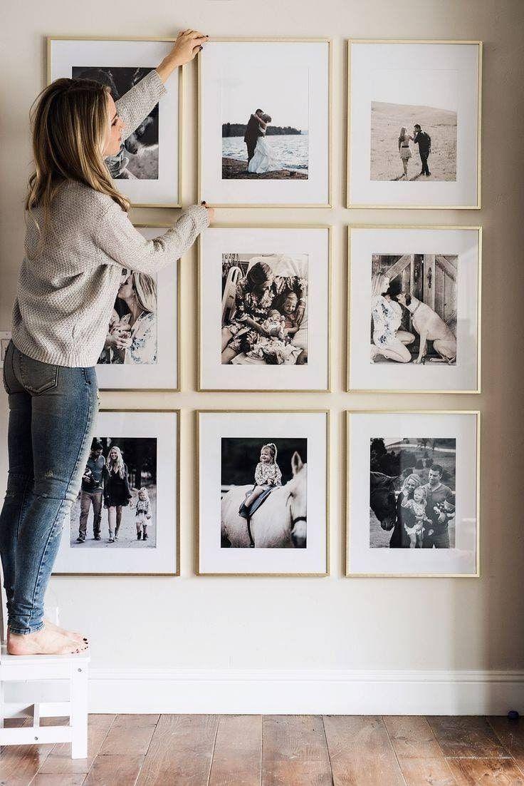 как вешать картинки на стену потолок представляет собой