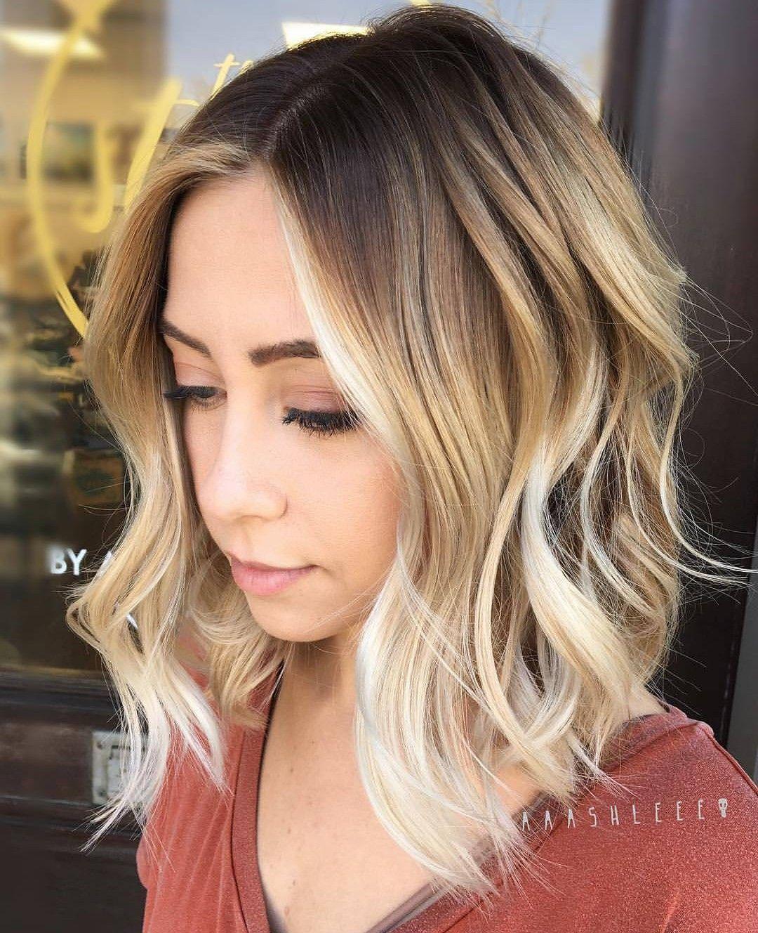 Brown Blonde Ombre Ombre Hair Blonde Hair Styles Medium Hair Styles