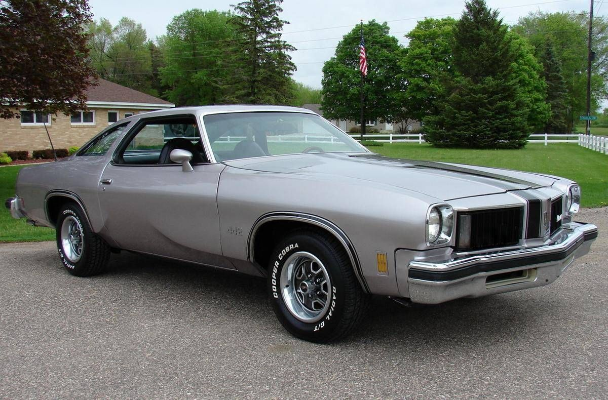 1975 Oldsmobile 442 That Body Style Was Very Handsome