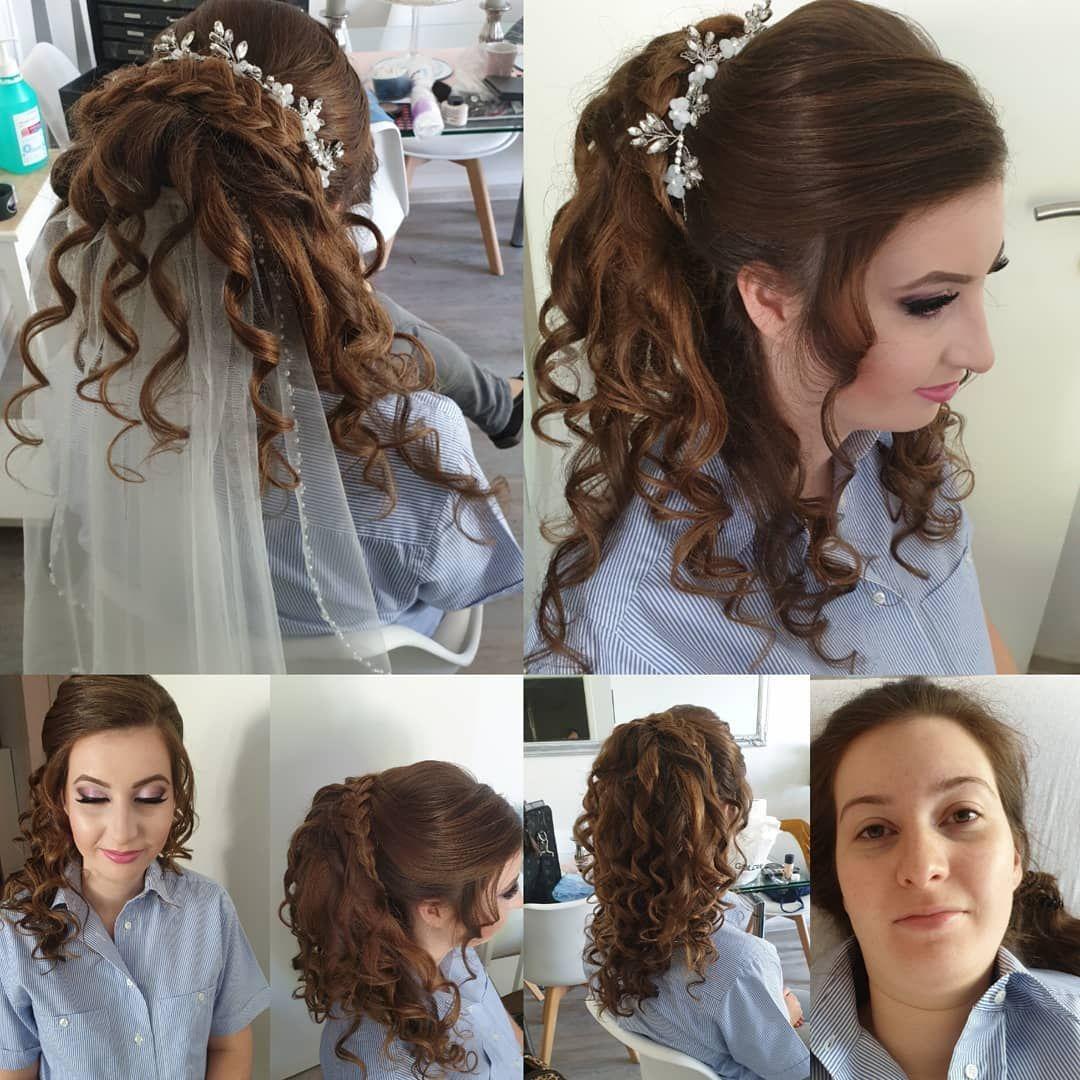 Meine Schone Braut Von Heute Luxusskin Braunschweig Salzgitter Hamburg Hannover Makeup Hochsteckfrisur Bridehairs Hairstyle Beauty Hair Styles