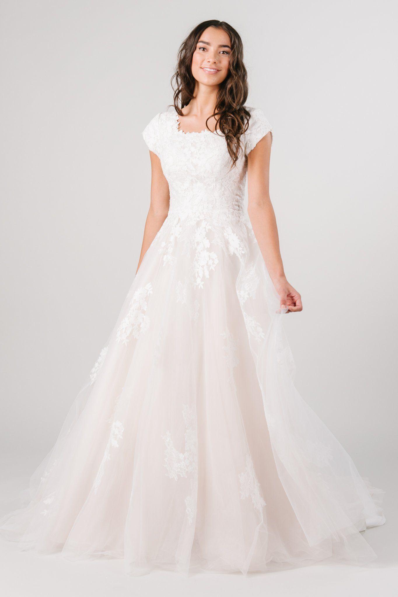 Alana in 2020 Modest wedding dresses ball gown, Dream