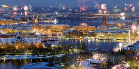Sweden The Largest Of The Scandinavian Countries Consisting Mainly Of Forest Punctuated By The Odd Crystal Clear Lak Travel Around The World Stockholm Sweden