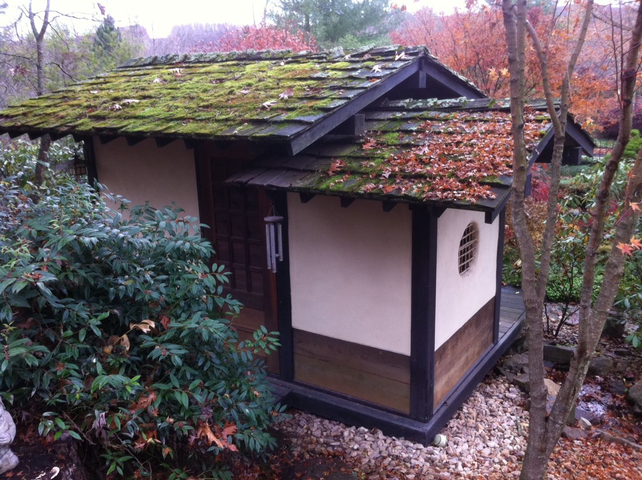 Japanese Tea House in the Fall | Japanese tea house ...
