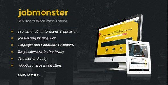 Jobmonster – Job Board WordPress Theme | WordPress Themes | Pinterest