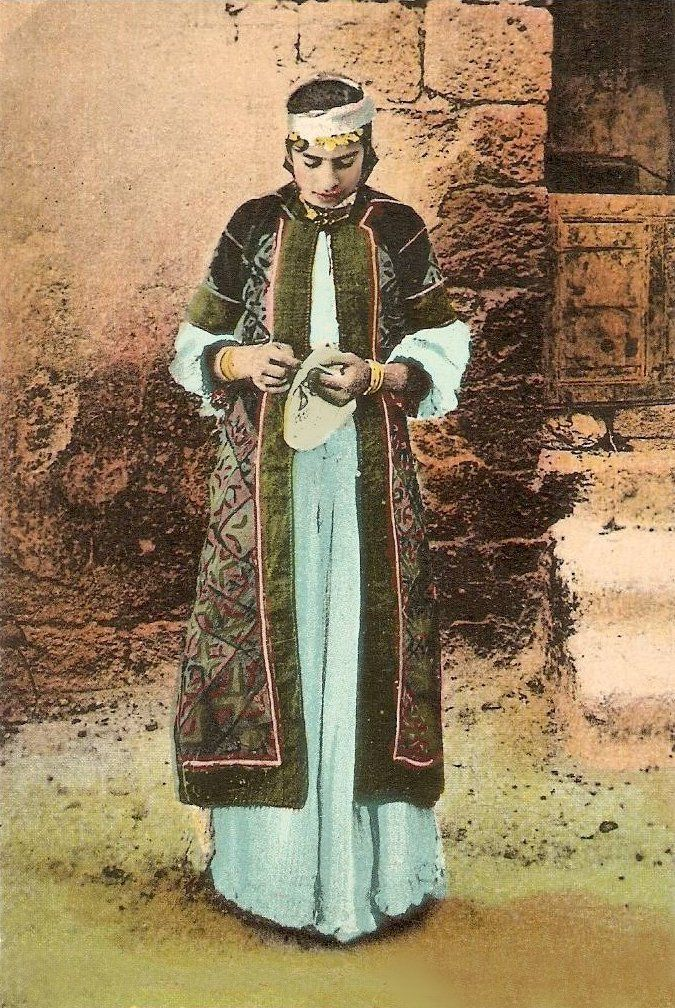 traditional clothes israel