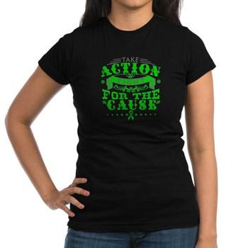 Kidney Cancer Action Junior Jersey T-shirt (dark)