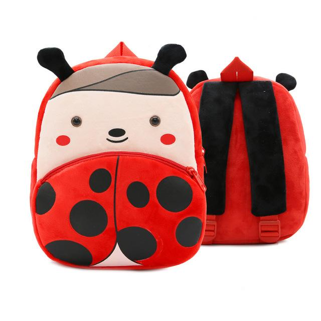 New Cute Plush Cartoon Kids School Bag Children Girl Backpack Toy For  Kindergarten Baby mochila Infant 793a994f0bc36