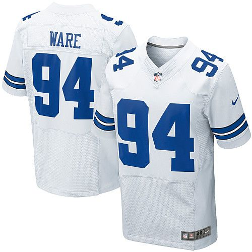 timeless design 766fb 518cd NFL Youth Elite Nike Dallas Cowboys #94 DeMarcus Ware White ...