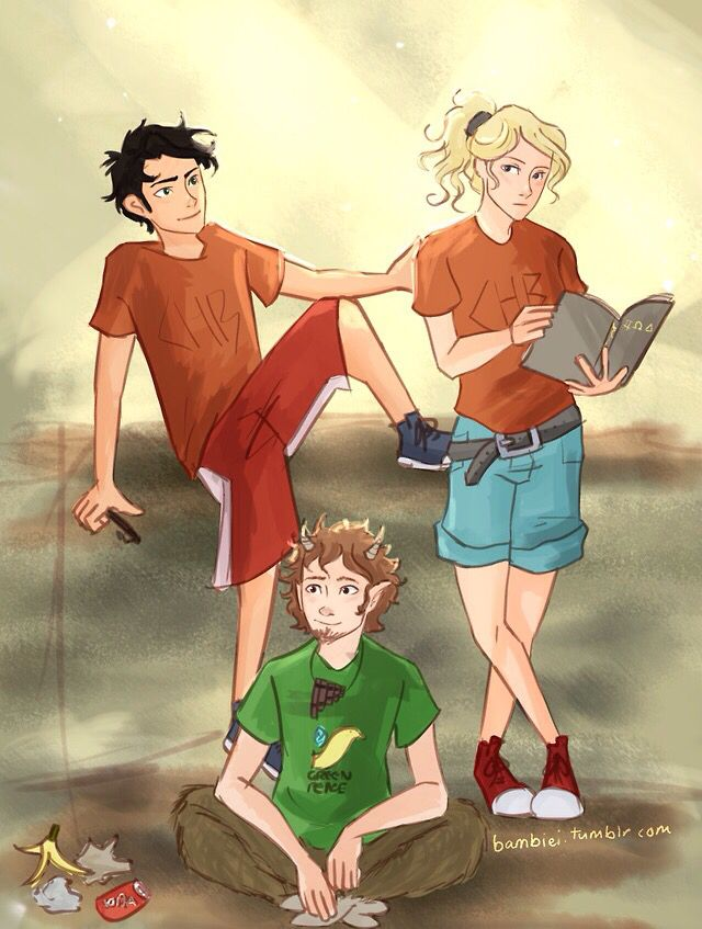 Percy Jackson Annabeth Chase Grover Underwood Percy