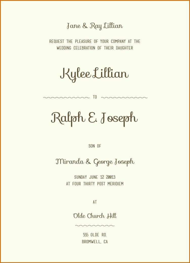 Wedding Invitation Wording Templates Top Selection Of Wedding Invit Simple Wedding Invitation Wording Wedding Invitation Templates Wedding Invitation Wording