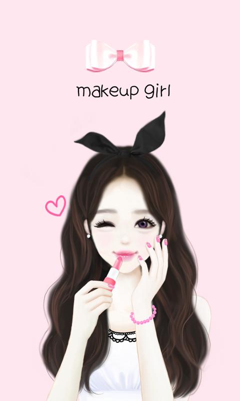 Sweet Girly Drawing Girly drawings, Iphone wallpaper