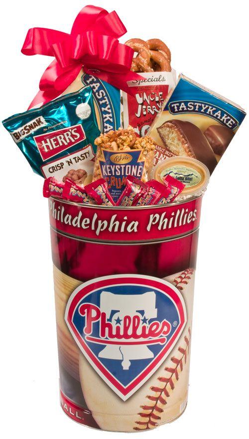 #Philadelphia Gift Baskets - The #Philly Sport Lover's Phillies Gift Basket