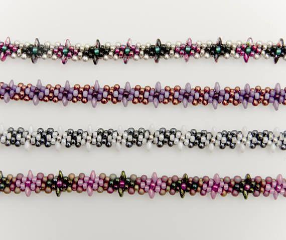 "Kumihimo Pattern Tutorial 6 Threads ""Stars"" Bracelet"