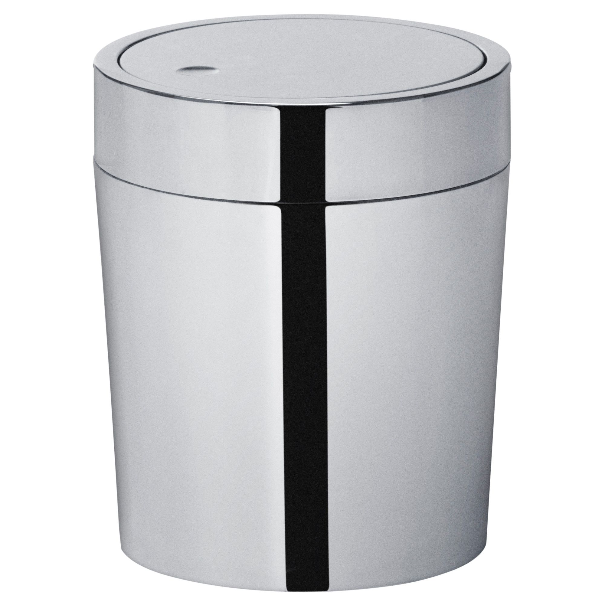 Savern Trash Can Stainless Steel 1 Gallon Ikea Bathroom Waste Basket Trash Can Ikea