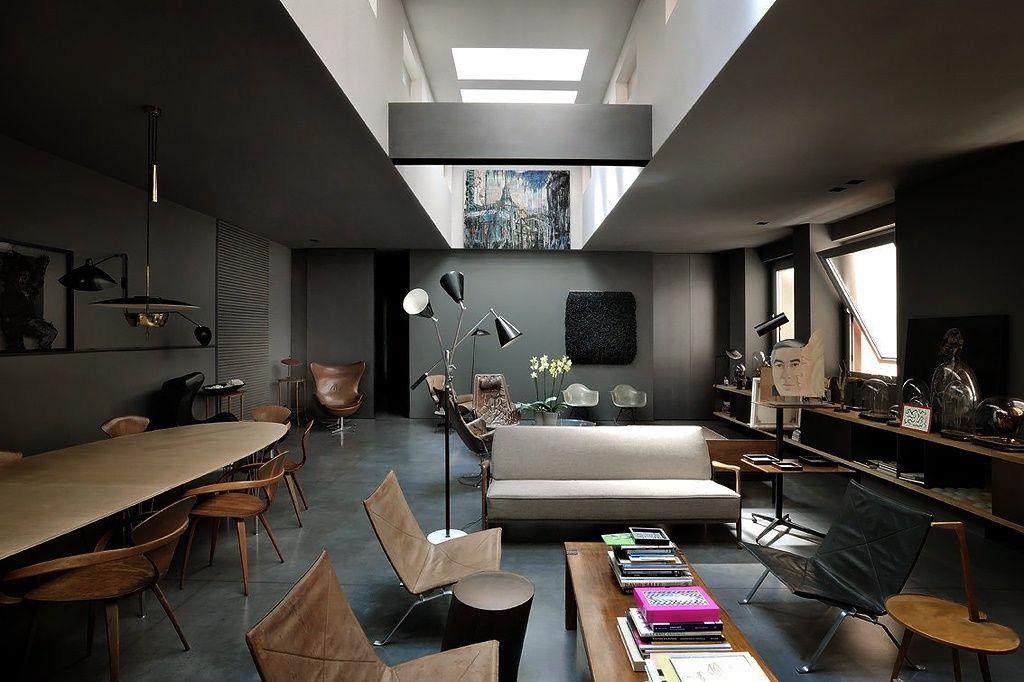 Italian black interior of dark fantasy  adorable home also small rh pinterest