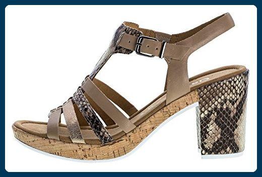 GABOR comfort Damen Sandaletten Beige Schuhe in
