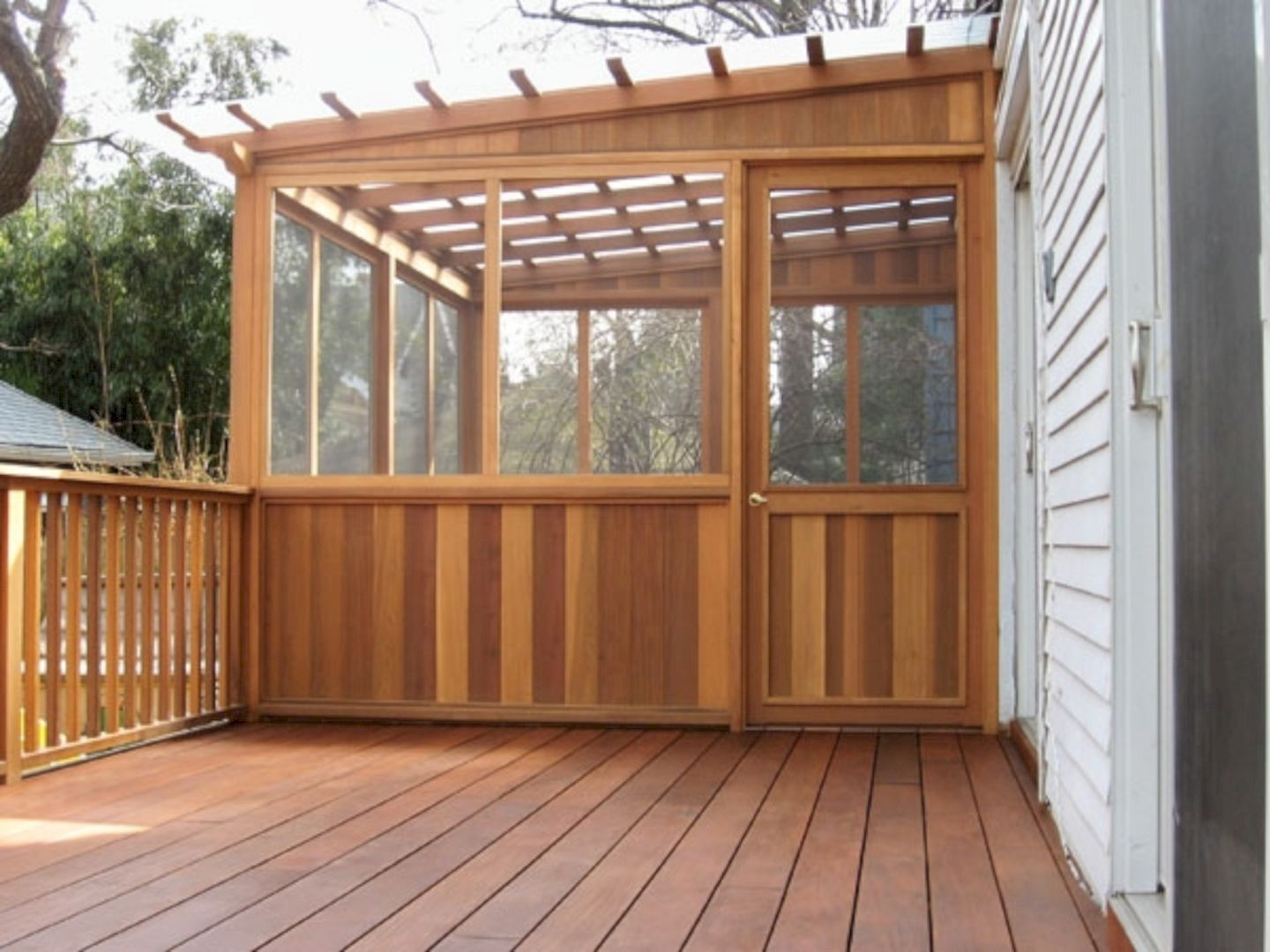 Wonderful Screened In Porch And Deck Idea 20 Porch