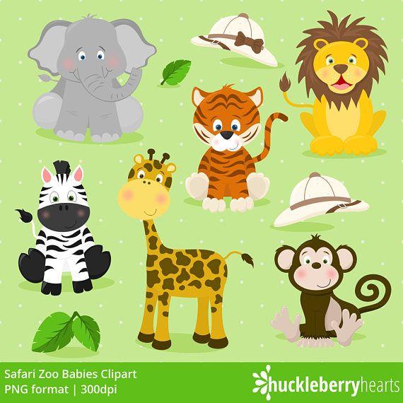 Safari Zoo Animals Clipart Zoo Animals Zoo Clipart Etsy In 2021 Animal Clipart Zoo Animals Zoo Clipart