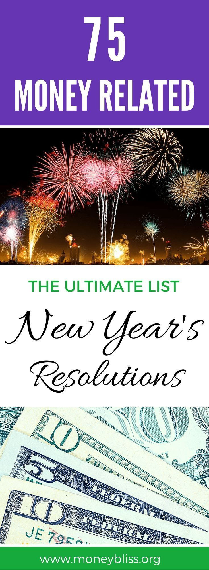 Ultimate List of New Year's Money Resolutions for 2020