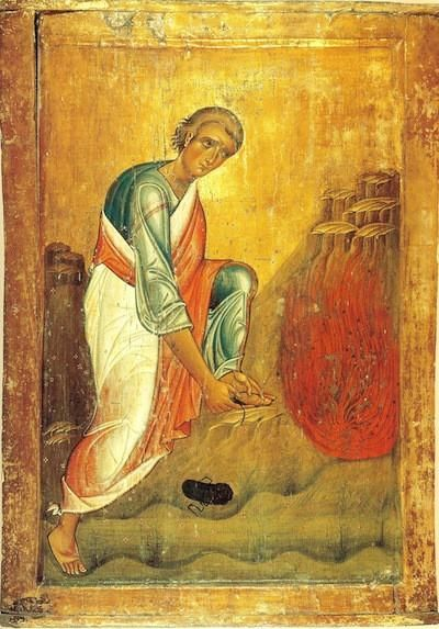 Image result for moses prophet icon