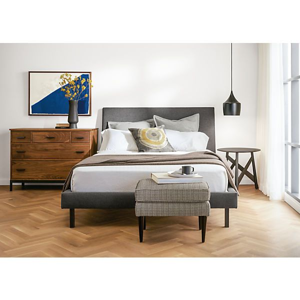 I Liked This In The Charcoal In The Store. I Said It Looked Sharp. Room U0026  Board   Ella Queen Bed
