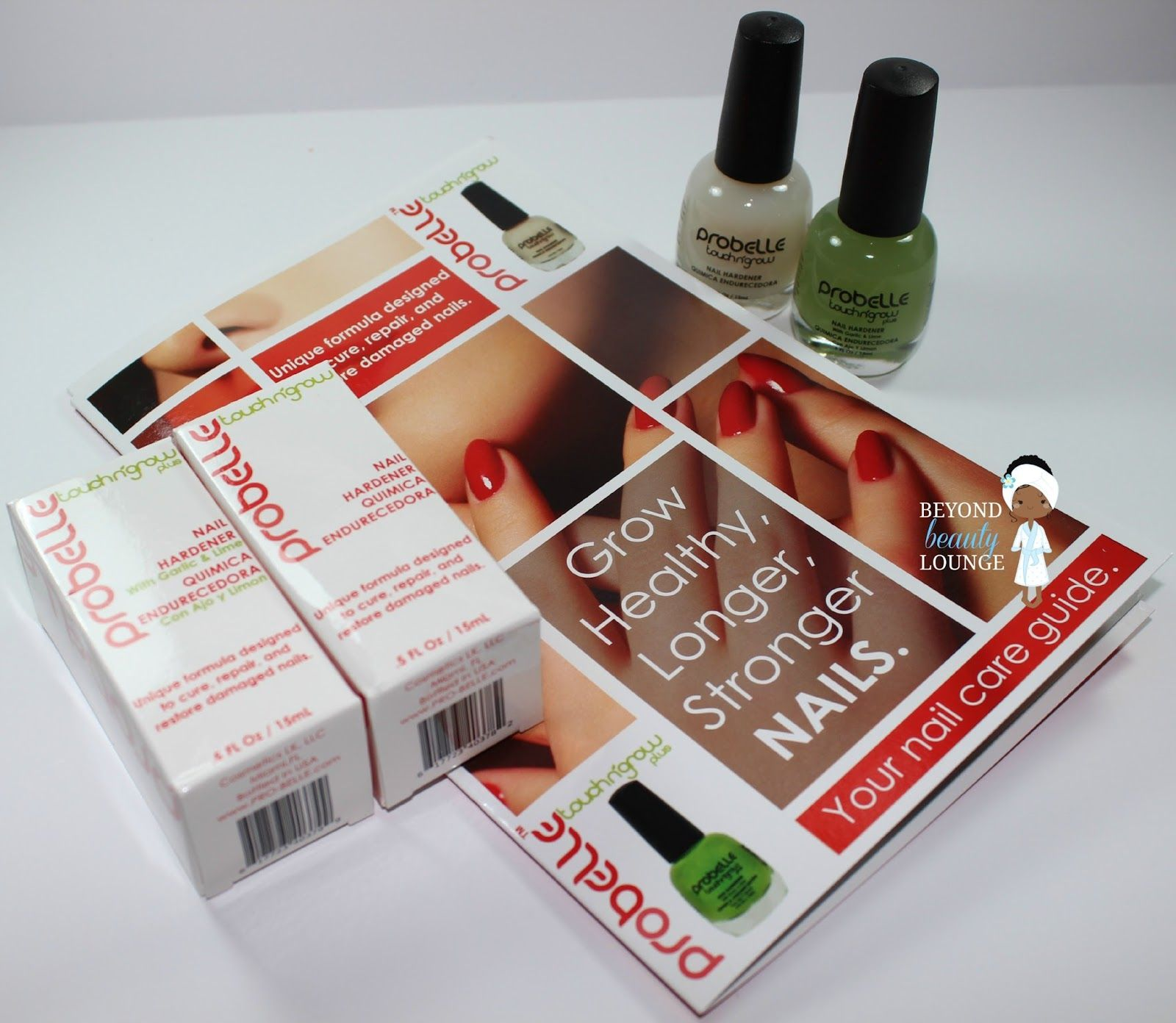 Probelle Touch N' Grow Nail Hardener Review