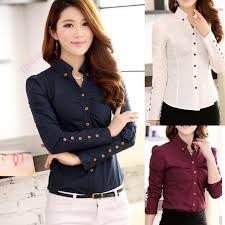ffc297e496296 Resultado de imagen para camisas para damas manga largas elegantes ...