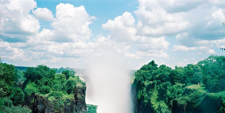 Victoria Falls by Olivo Barbieri