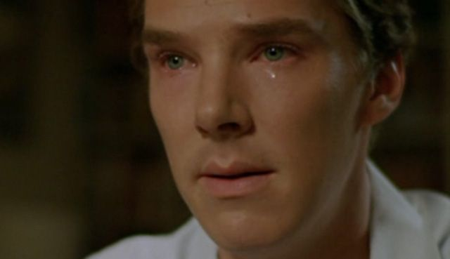 Benedict crying...