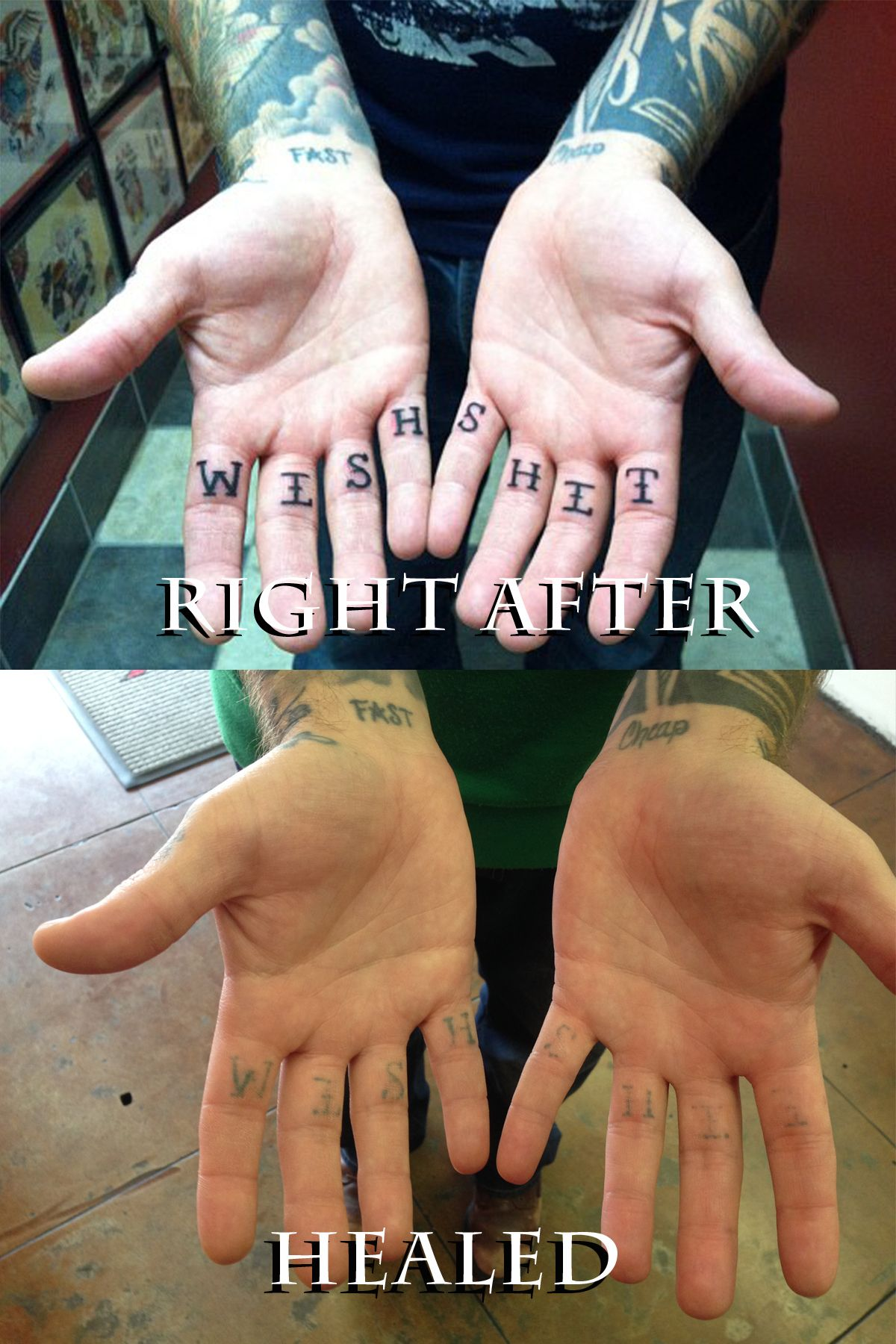 finger tattoos don't heal | Finger Tattoo | Pinterest ...
