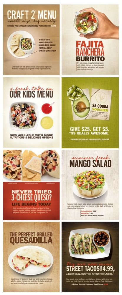 image relating to Qdoba Menu Printable referred to as Branding - Qdoba Mexican Grill by means of Whitney Huhmann at
