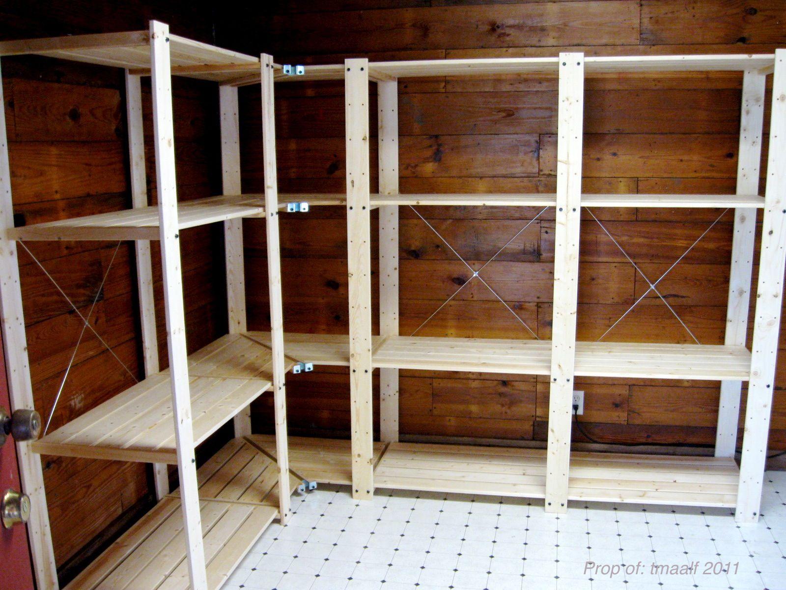 Wooden Display Shelves Ikea Google Search Ikea Storage Shelves Ikea Storage Diy Garage Shelves