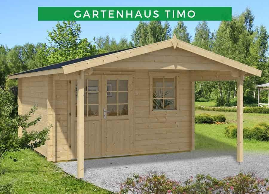 Gartenhaus Modell Timo Premium Gartenhaus holz