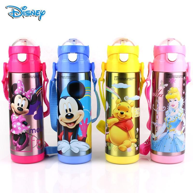 Disney Bottles Baby Cup Kids Water Bottles Minnie Mouse