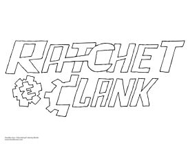 Ratchet And Clank Coloring Sheets Movie