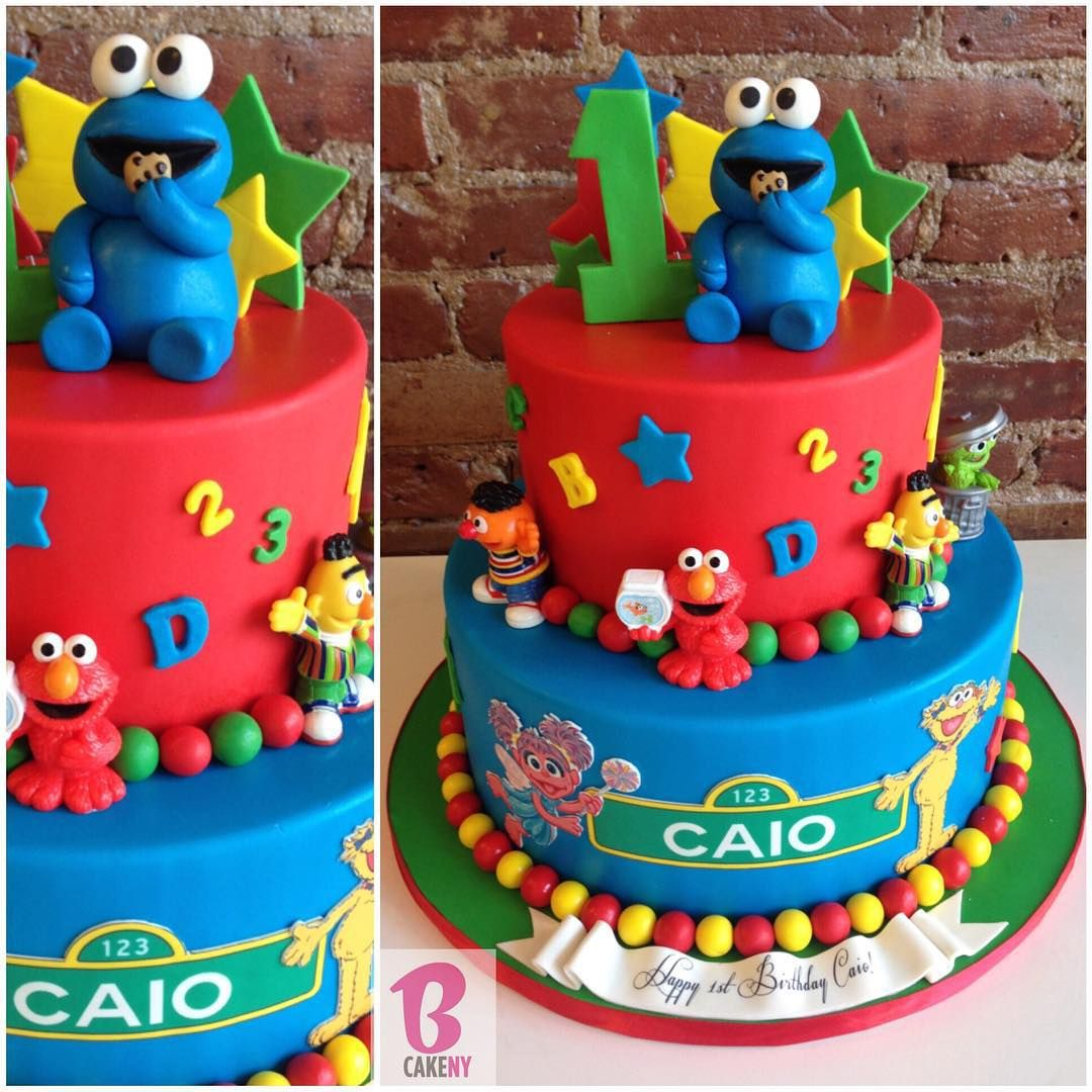Sesame Street Cake alledible detailobsessed Stop by for our