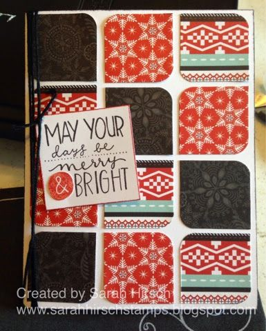 Stamping with Sarah: New Product Blog Hop