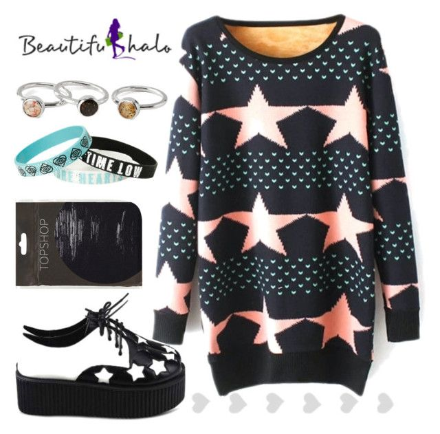 """""""BeautifulHalo #10"""" by crazydirectionergirl ❤ liked on Polyvore featuring mode et Topshop"""