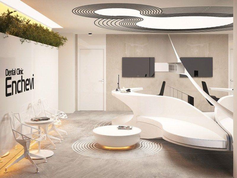 Organic Architecture Characteristics In This Dental Clinic Interior Concept Clinic Design Hospital Design Dental Design