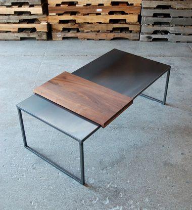 Hot Rolled Steel Tables | FURNITURE | Pinterest | Modern ...