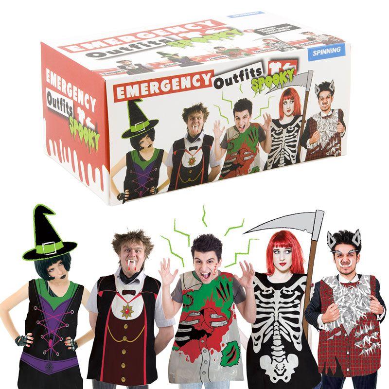 Emergency Spooky Outfits #spookyoutfits