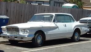 1961 Plymouth Valiant Baby Blue Interior And Push Button