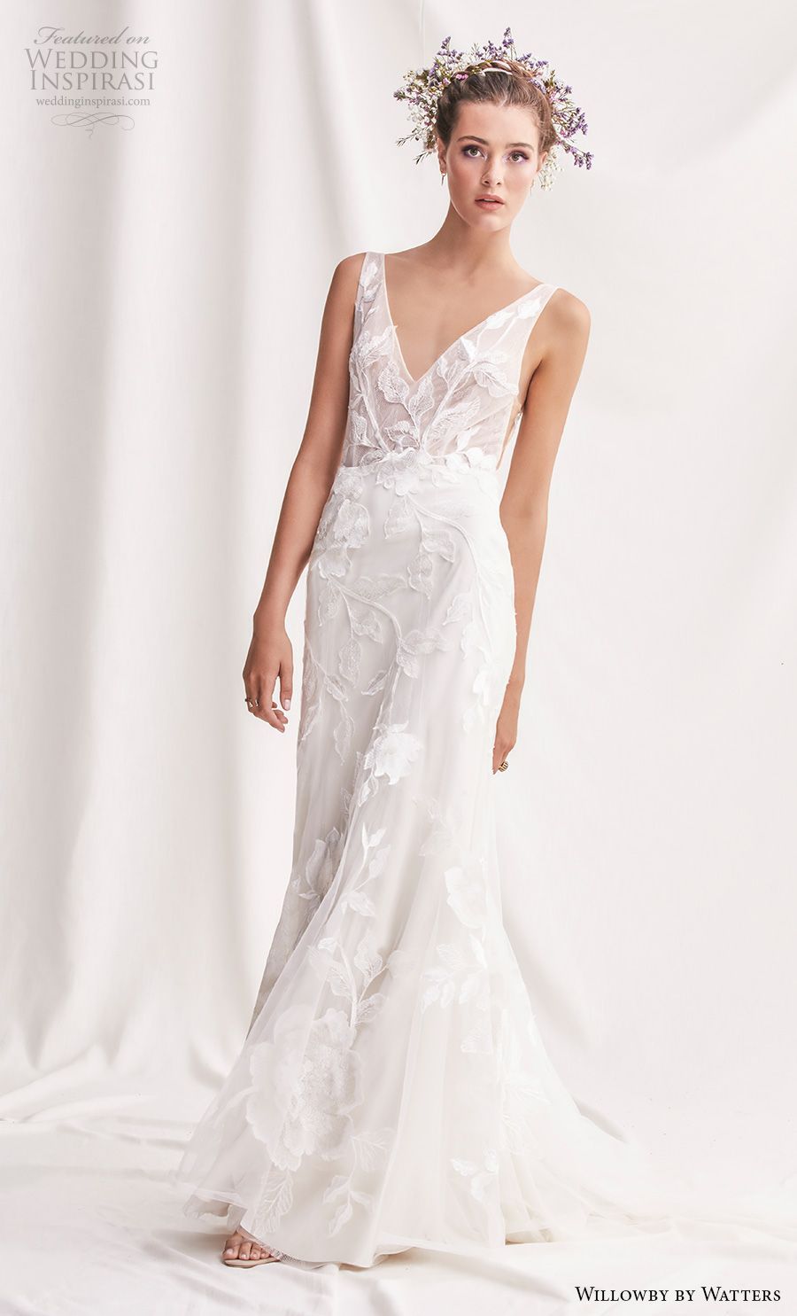 Simple elegant wedding dress designers  Willowby by Watters Spring  Wedding Dresses  Wedding