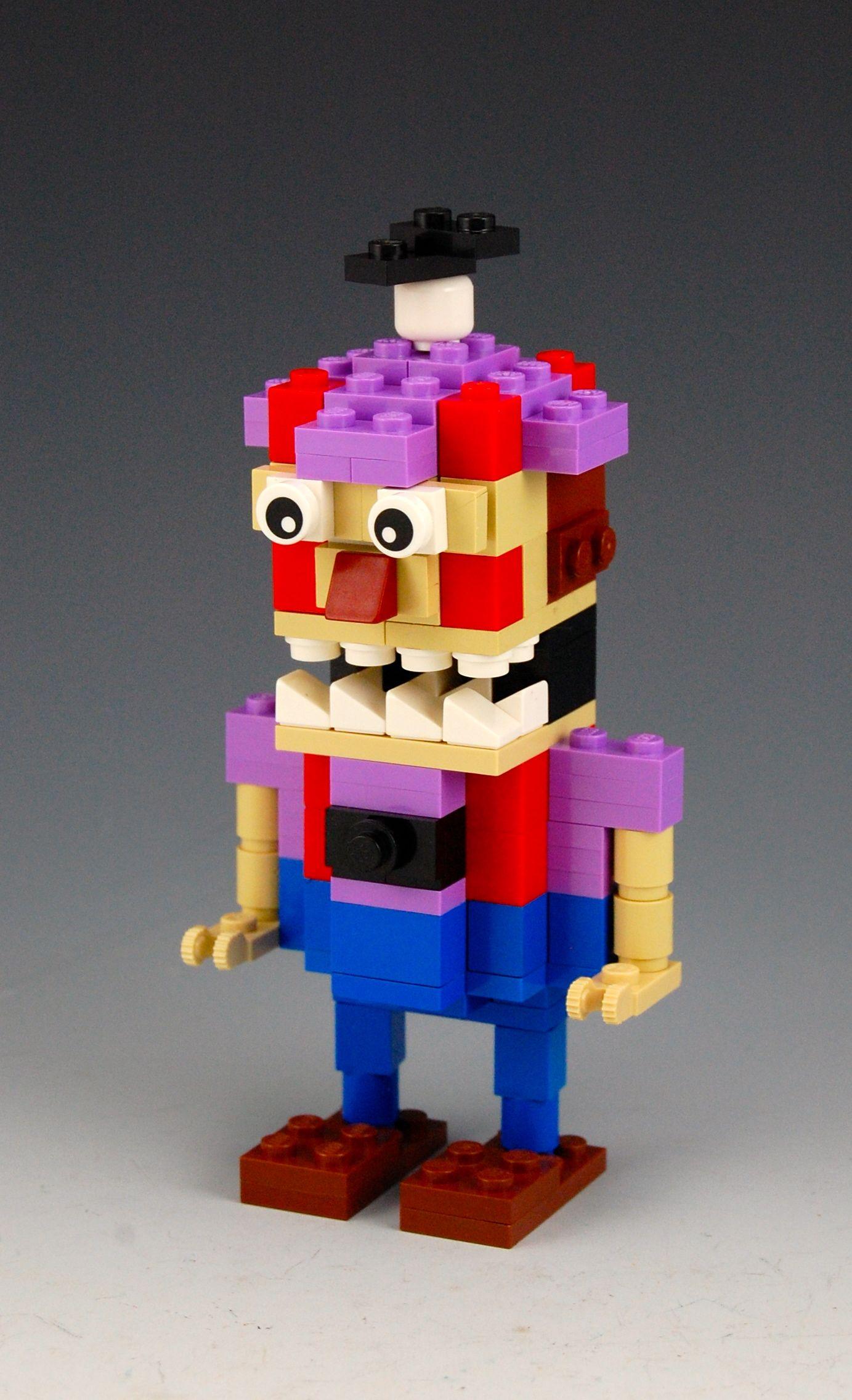 Lego Five Nights At Freddy S Balloon Boy By Brickbum Five Nights At Freddy S Lego Fun Crafts