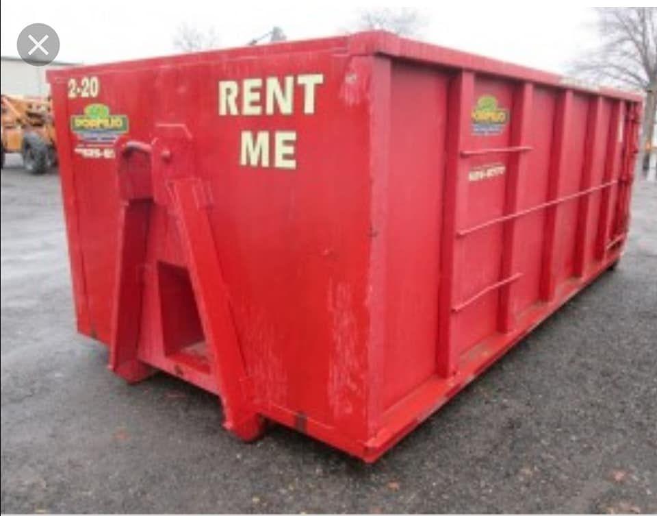 Mulch Dumpster Rental Rental Dumpster